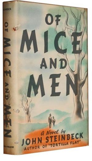 the choices of the protagonist george in of mice and men by john steinbeck Curley is the antagonist in steinbeck's novel, of mice and men he always puts up roadblocks and resistance to george.